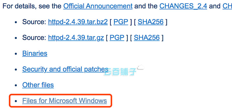 Files for Microsoft Windows